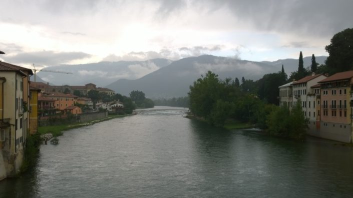 italian-bicycle-tours-View-from-bassano-del-grappa-Bridge